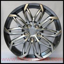 Silver casting aluminum alloy wheel rims for Toyota 18