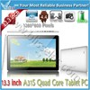 Great 13.3 inch android 4.4 quad core tablet laptop price