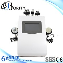 new products 2014 ultrasound Vacuum cavitation rf shock wave therapy slim belly price machine