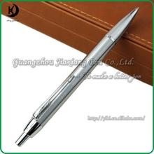 Hot-selling Logo Gift Click Silver Metal Ball Pen JD-SL106