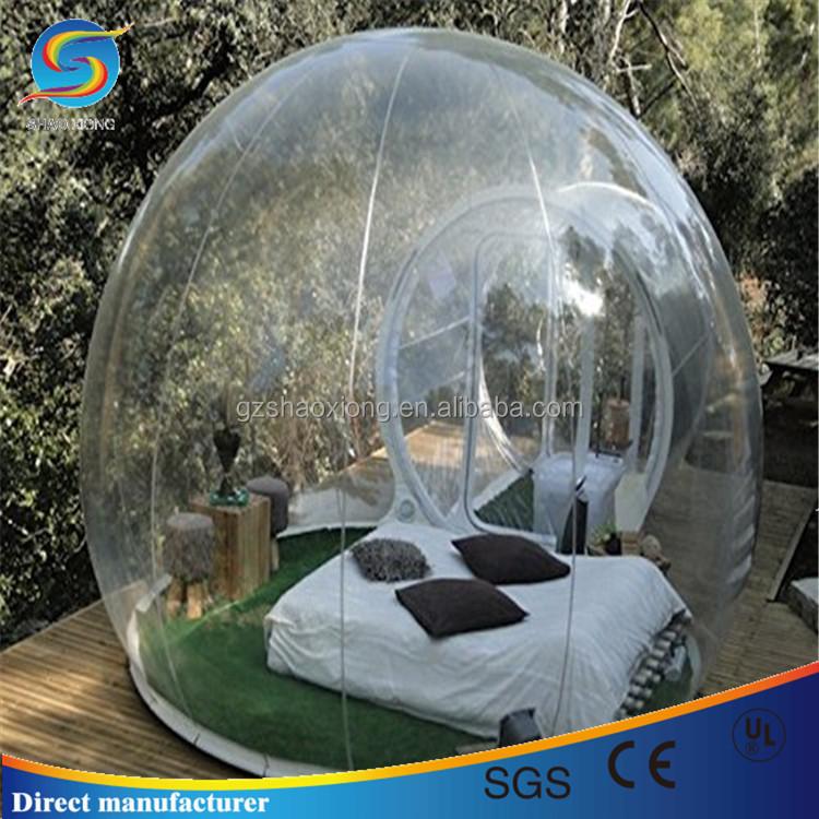 Лучшие продажи открытый прозрачный надувной воздушный пузырь палатка