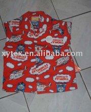 cotton children's sleepwear