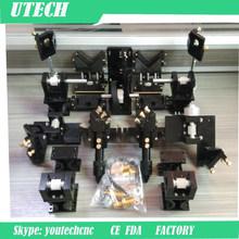 Mechanical system laser head, laser mirror holder mount ,and laser tube holder