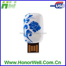 Chinese porcelain usb flash drive , fancy chinese gifts usb , business promotional gifts