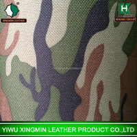 PVC outdoor waterproof multicam digital military camouflage fabric Oxford thicken bottom cover luggage fabric