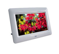 full function MP3 Mp4 photo playback led light photo frame