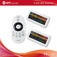 4-ZONE 2.4G RF LED Dual White Dimmer remote + 2x ww cw controller for led strip