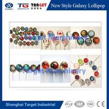 nuevo estilo galaxy lollipop automático del depósito de la línea de producción