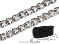 Metal handbag chain for chain purse handle