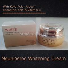 Hot Selling Cosmetics Skin Care Herbal Extract Effectively Brightening Joyful Whitening Cream