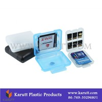 Custom clear durable plastic memory card dedicated packing box