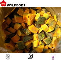 vegetable frozen pumpkin cubes blanched for sale