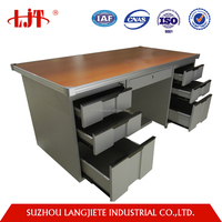 China factory Wholesale Office Steel Metal Tables with metal legs