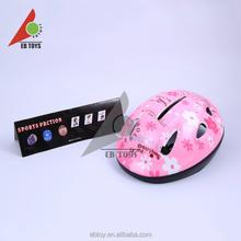 Hot sale children sport item safety PS+HIPS kid toy bike helmet for wholesale
