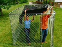 Hot sales temporary dog enclosure