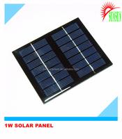 1W small PET/epoxy solar panel