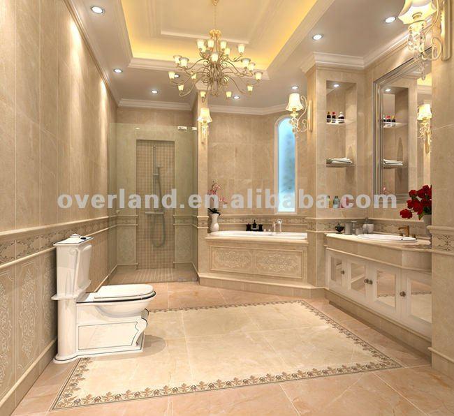 Ceramica mattonelle di pavimento rustiche piastrelle di - Mattonelle per bagno ...