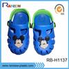 funny design eva kids plastic clogs shoes