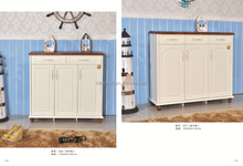 customer design solid wood shoe storage cabinet