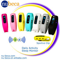 Bluetooth Touch screen Activity Monitor Calorie Tracker with Sleep Monitoring