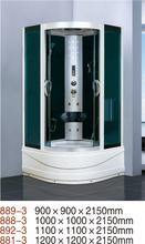 Fábrica hangzhou alumínio massagem de luxo tamanho padrão porta de correr vapor de banho