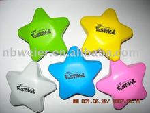 PU star shape stress ball/kids toy/promotional gift