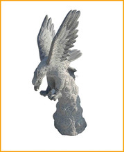 Natural Stone Granite Animal Eagle Statue