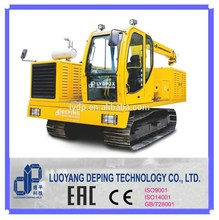 Crawler welding tractor for large diameter pipe welding