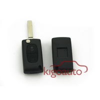 CE0523 flip key housing HU83 /VA2 2button car key case for Citroen