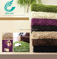 decorative polyester long pile shaggy carpet for sale prices