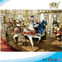 Popular in China cheap amusement park equipment carousel t shirt printing machines musical carousel