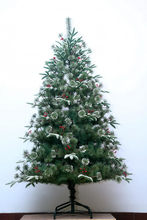 Good quality hot selling fashion tinsel pet christmas tree