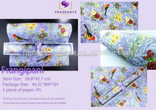 fashionable volatile Potpourri scented drawer liner paper