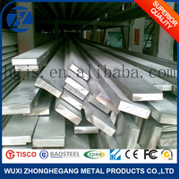 201 Stainless Steel Flat Bar With Round Edge
