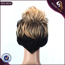 silicone full lace wig full hair wigs for men