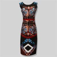 printing hot sale customed kitenge dress designs for african women