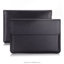 Fashion folio leather shockproof laptop case for MacBook Air 12