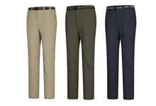 nylon windbreaker zipper cargo men beach pants with bellow pockets