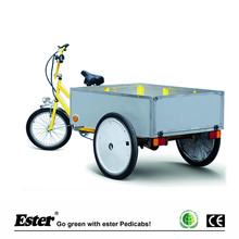 500W Electric Assist Cargo Trike