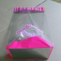 en plastique de bonbons emballage cellophane sac à fond carré
