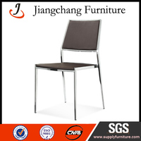 Stacking Stainless Steel Frame Chair For Meeting JC-L221