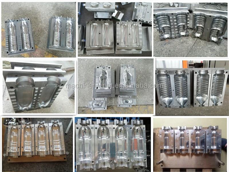 300 ml 500 ml 1L Semi Automatique En Plastique Étirable Bouteille Machine de Soufflage Préformes PET Machine de Soufflage