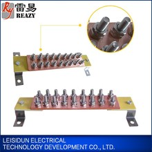 Low voltage electric busbar trunking system electrical busbar connectors copper aluminum insulated busbar for grounding