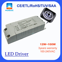 30W triac dimmable 24v led driver for strip lights