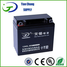 12V 9Ah 12N9L-BS Lead Acid SLA Motorcycle Motor bike Scooter Battery