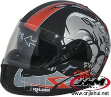 Popular motorcycle flip up motorcycle helmet with DOT approved