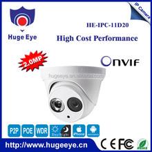 """1/2.5"""" SONY 2.0MP High-resolution CMOS Sensor hd ip 3.6mm lens indoor ip camera p2p best ip camera"""