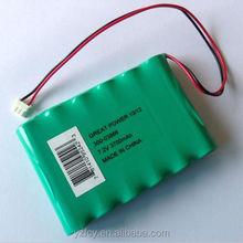 6v 10ah 20hr battery nimh 7.2v