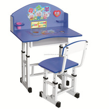 high quality height adjustable student study writing children desk,XM-280