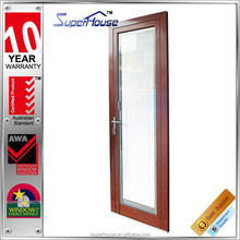 Superhouse latest wood grain doors and window as2047 for apartment